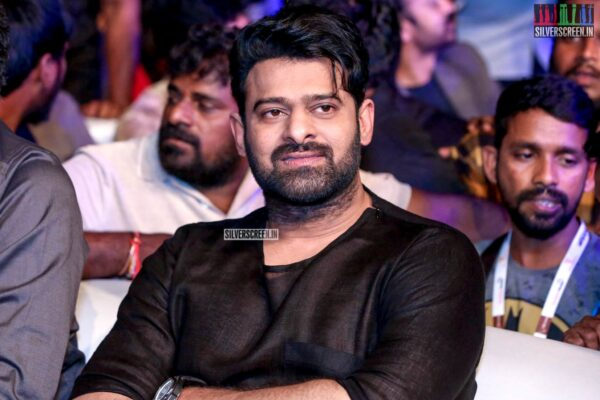 Prabhas At The 'Saaho' Pre Release Event