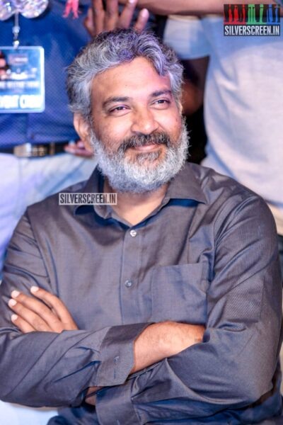 SS Rajamouli At The 'Saaho' Pre Release Event