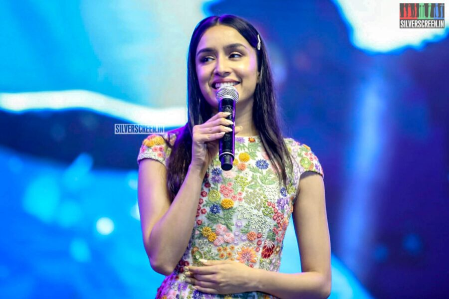 Shraddha Kapoor At The 'Saaho' Pre Release Event