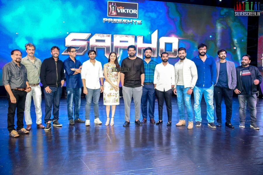 Prabhas, Shraddha Kapoor At The 'Saaho' Pre Release Event