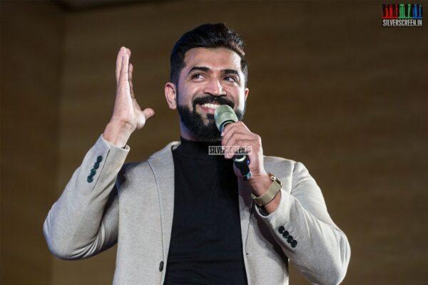Arun Vijay At The 'Saaho' Press Meet