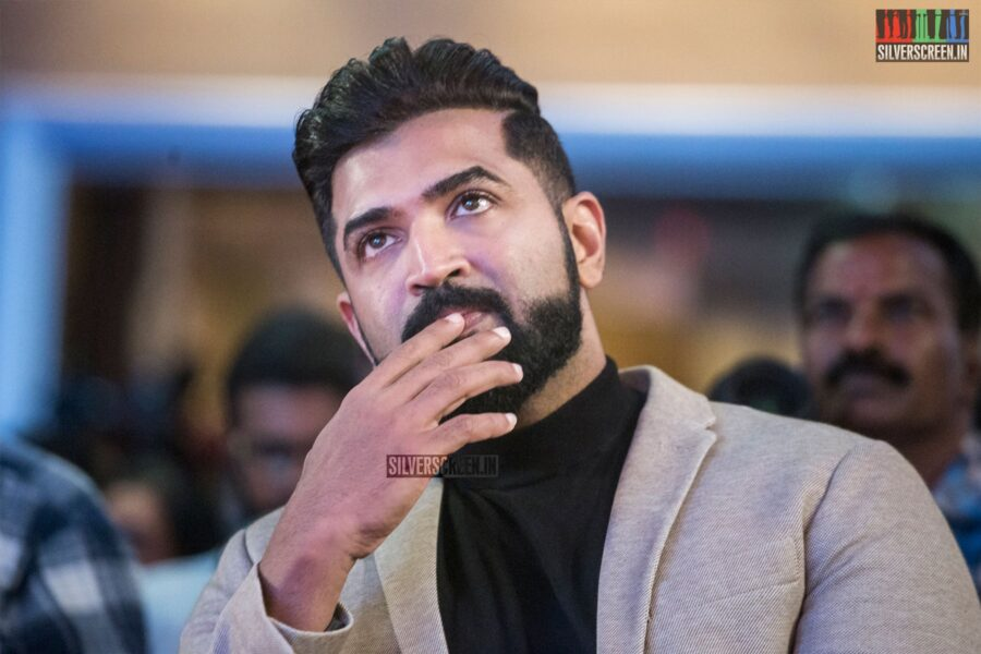 Arun Vijay At The 'Saaho' Press Meet