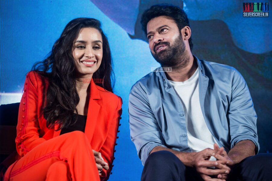 Prabhas, Shraddha Kapoor At The 'Saaho' Press Meet