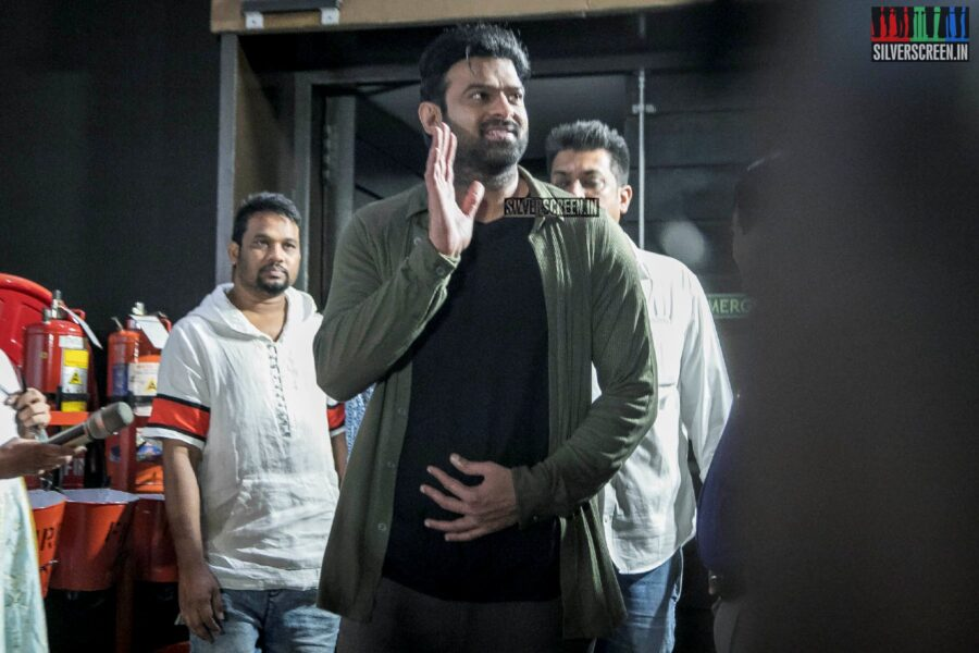 Prabhas At The 'Saaho' Press Meet
