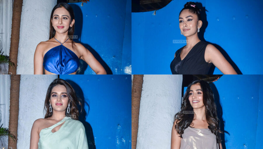 Celebrities At The 'Emmay Entertainment' Party
