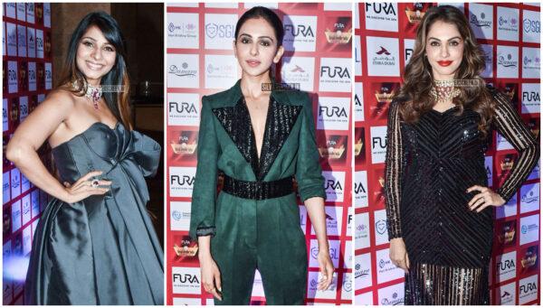 Rakul Preet Singh, Tanisha Mukerji At The 15th Annual Fura Retail Jeweller India Awards 2019