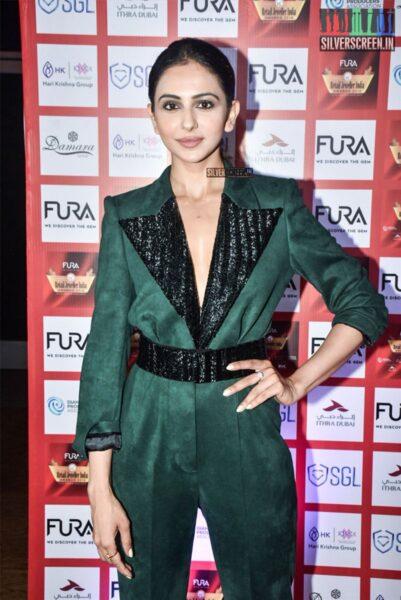 Rakul Preet Singh At The 15th Annual Fura Retail Jeweller India Awards 2019