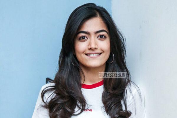 Rashmika Mandana At The 'Dear Comrade' Success Meet