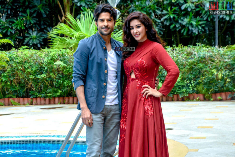 Sameksha Promotes 'Pranaam'