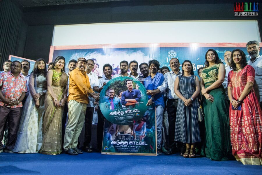 Celebrities At The 'Adutha Saattai' Audio Launch