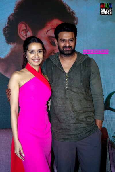 Shraddha Kapoor, Prabhas At The 'Saaho' Press Meet
