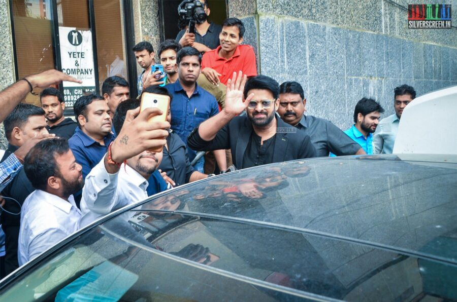 Prabhas At The 'Saaho' Trailer Launch