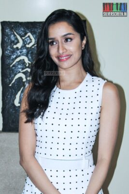 Shraddha Kapoor At The 'Saaho' Trailer Launch