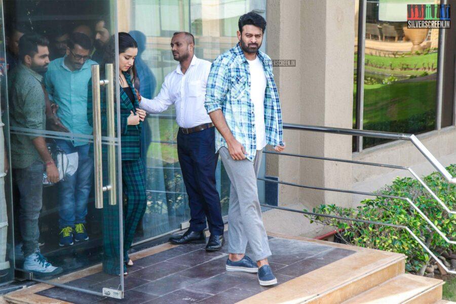Shraddha Kapoor, Prabhas Promote 'Saaho'