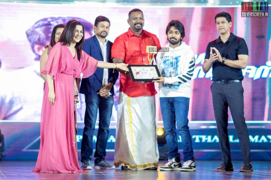 Dhivyadarshini, GV Prakash Kumar At The Provoke Awards 3.0