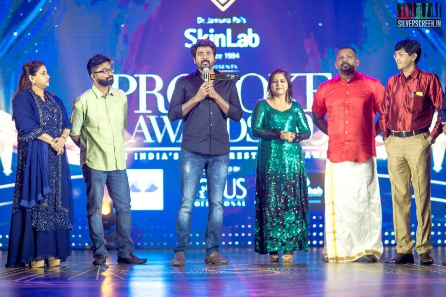 Sivakarthikeyan At The Provoke Awards 3.0