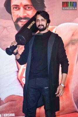 Kichcha Sudeepa  At The 'Pehlwaan' Trailer Launch