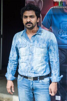 Vaibhav At The 'Sixer' Press Meet