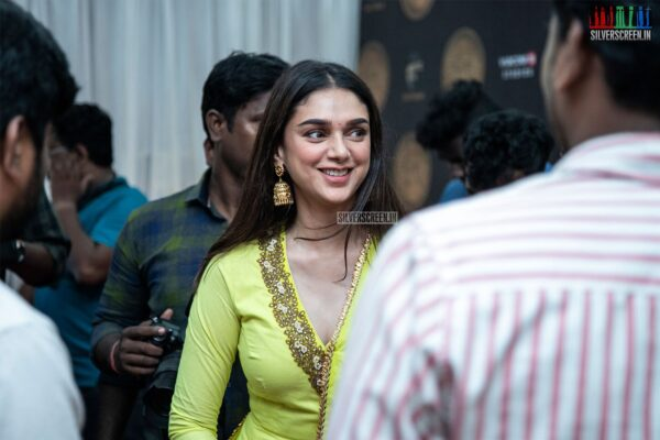 Aditi Rao Hydari At The 'Tughlaq Durbar' Movie Launch
