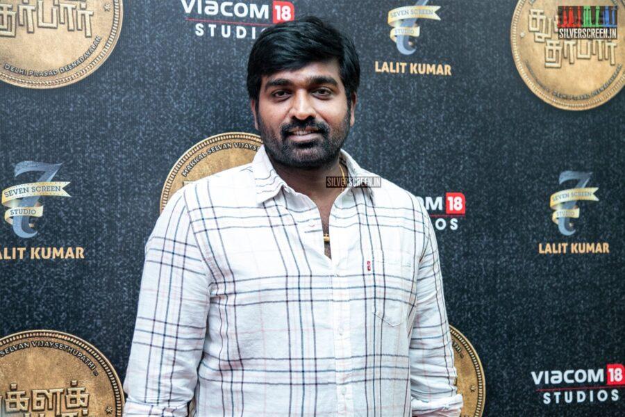 Vijay Sethupathi At The 'Tughlaq Durbar' Movie Launch