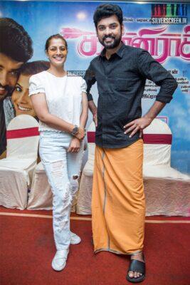 Vimal, Varalaxmi At The 'Kanni Rasi' Press Meet