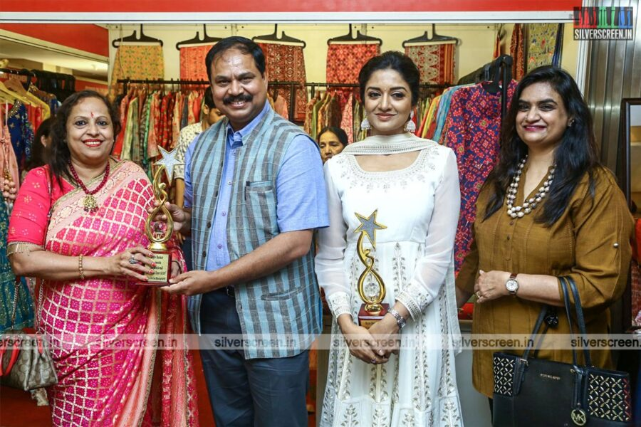 Vimala Raman At The Inauguration Of Two Day Designer Exhibition