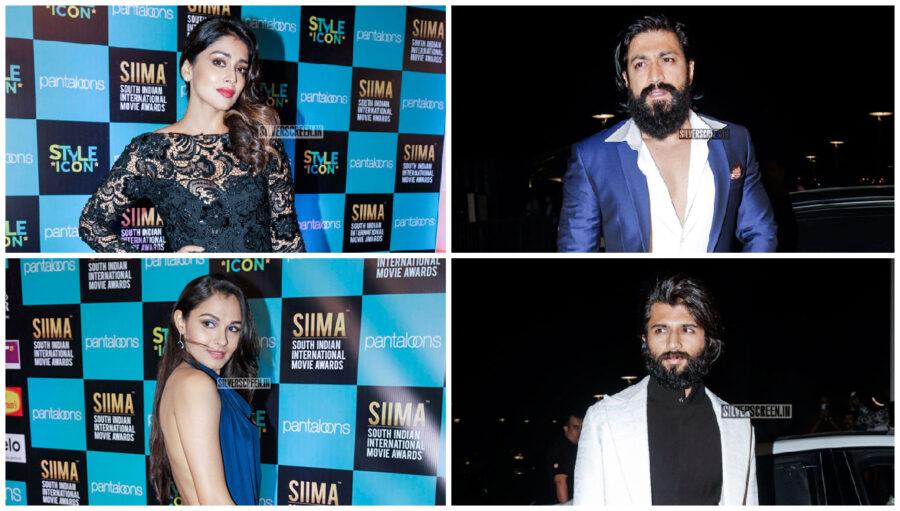 Yash, Keerthy Suresh, Andrea Jeremiah At The 'SIIMA Awards' - Day 1 In Doha