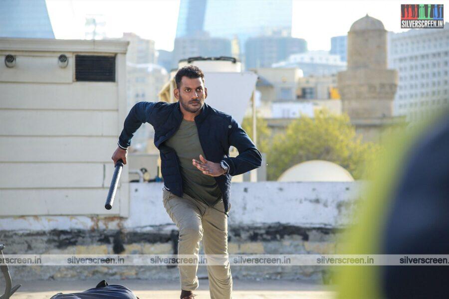 Action Movie Stills Starring Vishal