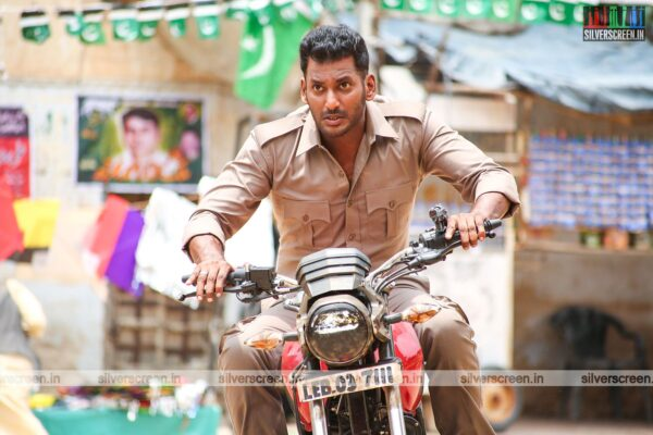 Action Movie Stills Starring Vishal