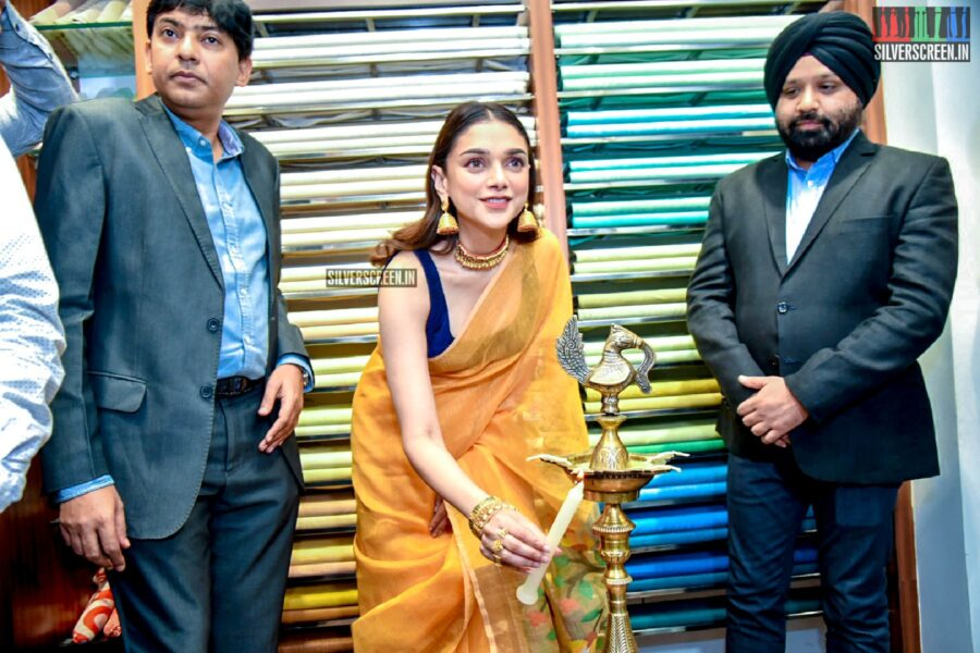 Aditi Rao Hydari At The Launch Of Linen Club Store In New Delhi