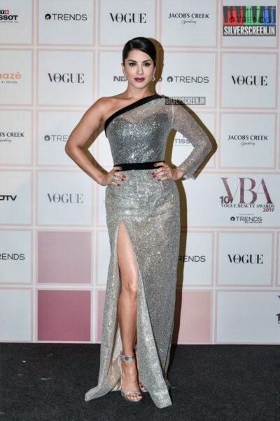 Sunny Leone At The 'Vogue Beauty Awards 2019'