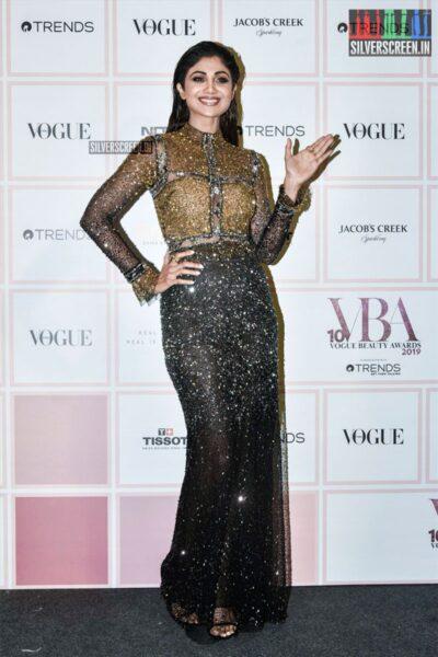 Shilpa Shetty At The 'Vogue Beauty Awards 2019'