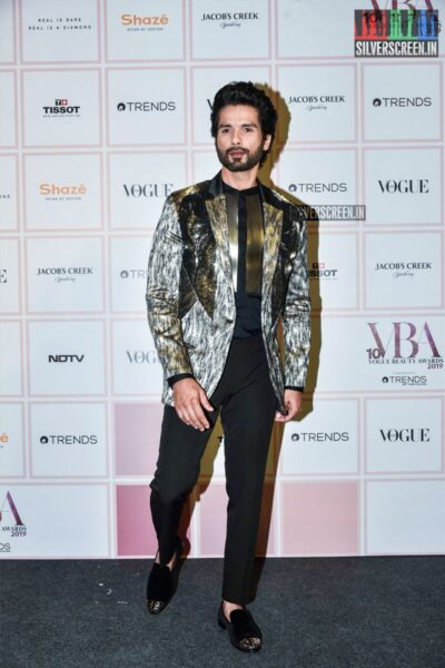 Shahid Kapoor At The 'Vogue Beauty Awards 2019'