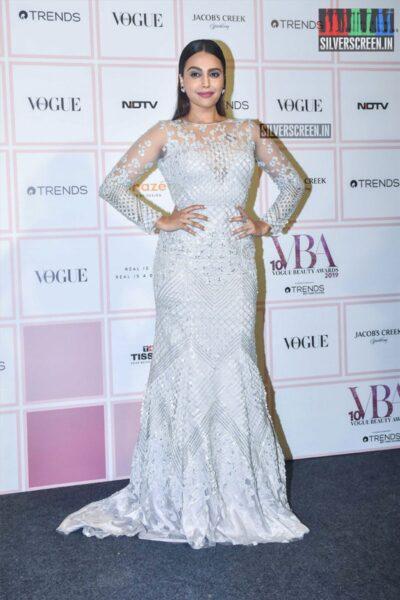 Swara Bhaskar At The 'Vogue Beauty Awards 2019'