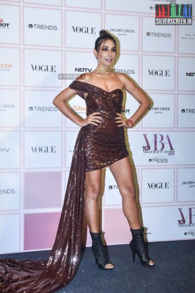 Celebrities At The 'Vogue Beauty Awards 2019'