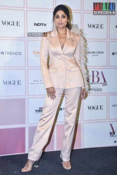 Shamita Shetty At The 'Vogue Beauty Awards 2019'