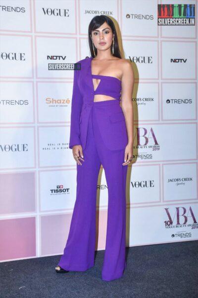 Rhea Chakraborty At The 'Vogue Beauty Awards 2019'
