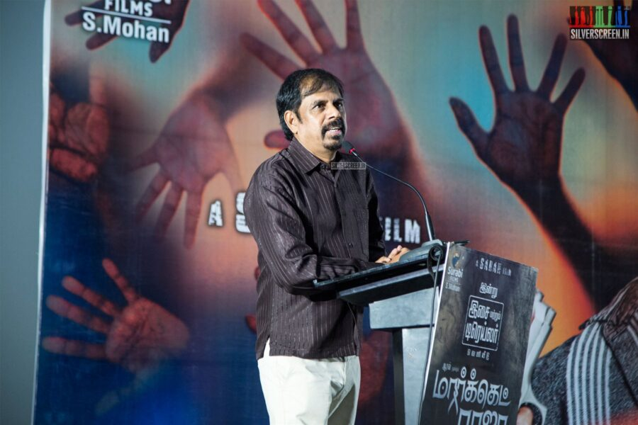 RK Selvamani At The 'Market Raja MBBS' Audio Launch