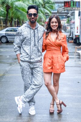 Ayushmann Khurrana, Nushrat Bharucha Promote 'Dream Girl'