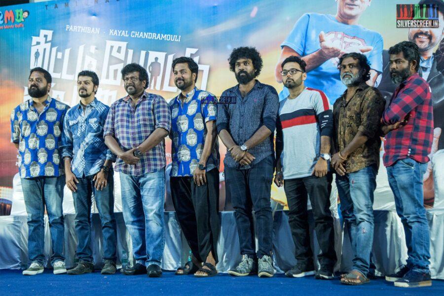 Celebrities At The 'Thittam Poattu Thirudra Kootam' Press Meet