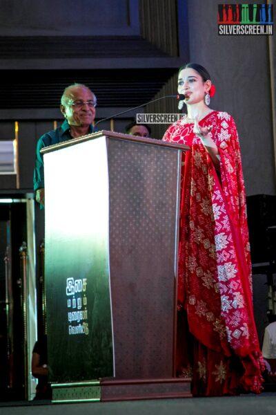 Tamannaah At The 'Sye Raa Narasimha Reddy' Press Meet