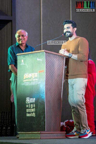 Ram Charan At The 'Sye Raa Narasimha Reddy' Press Meet