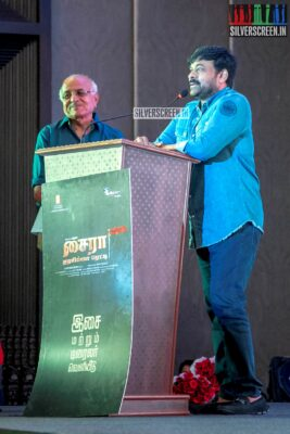 Chiranjeevi At The 'Sye Raa Narasimha Reddy' Press Meet