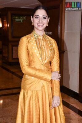 Tamannaah Promotes 'Sye Raa Narasimha Reddy' In Mumbai