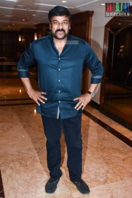 Chiranjeevi Promotes 'Sye Raa Narasimha Reddy' In Mumbai