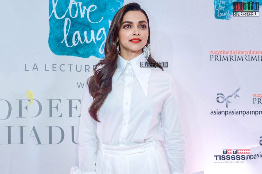 Deepika Padukone At The Launch Of 'Live Love Laugh' - A Lecture Series