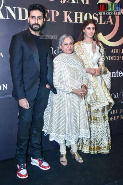 Abhishek Bachchan At Abu Jani And Sandeep Khosla's Fashion Show