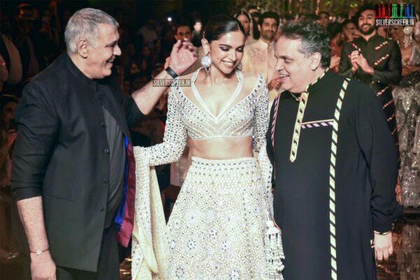 Deepika Padukone At Abu Jani And Sandeep Khosla's Fashion Show