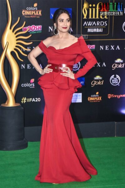 Madhuri Dixit At The 20th 'IIFA Awards 2019' at NSCI, Dome In Mumbai