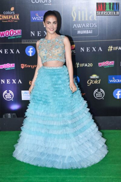 Elli AvrRam At The 20th 'IIFA Awards 2019' at NSCI, Dome In Mumbai